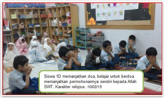 Proses KBM di SD Islam Al Ikhlas