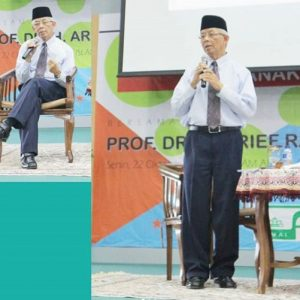 Seminar Parenting Bersama Prof. Dr. H. Arief Rachman, M.Pd
