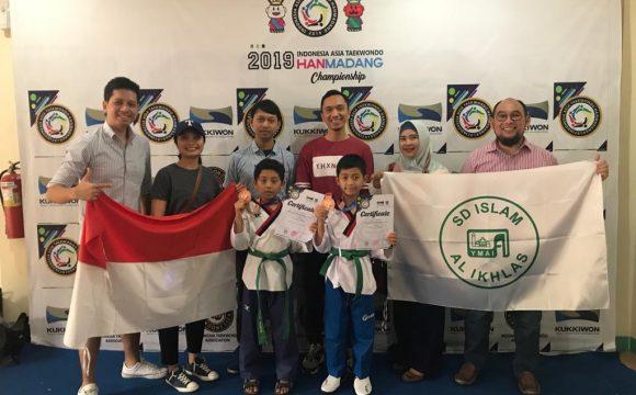 SD Islam Al Ikhlas Meraih Juara 3 Dalam Kejuaraan Internasional Taekwondo