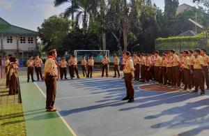 Ekskul Pramuka untuk Kelas VII