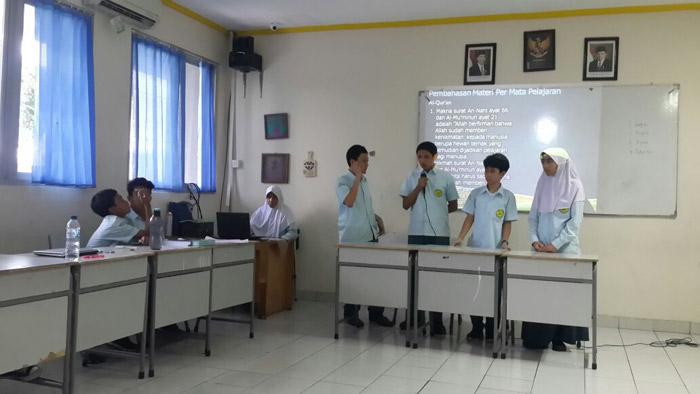 presentasi pembelajaran tematik 4