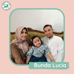 Menurut Bunda Lucia tentang KB/TK Islam Al Ikhlas